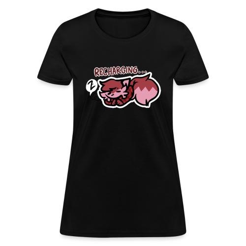 Recharging Bean - Women's T-Shirt