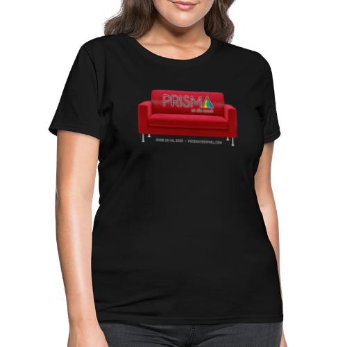 PRISMA on the Couch: Red - Women's T-Shirt