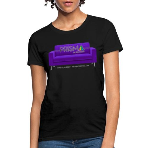 Purple Couch - Women's T-Shirt