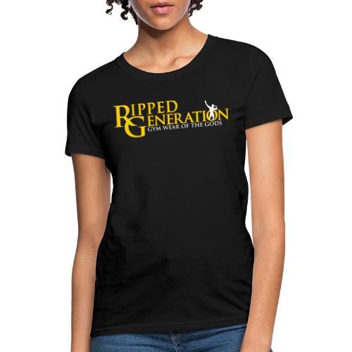 Ripped Generation Logo Gold - Women's T-Shirt