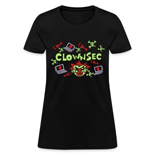The Clown Hacker - Women's T-Shirt