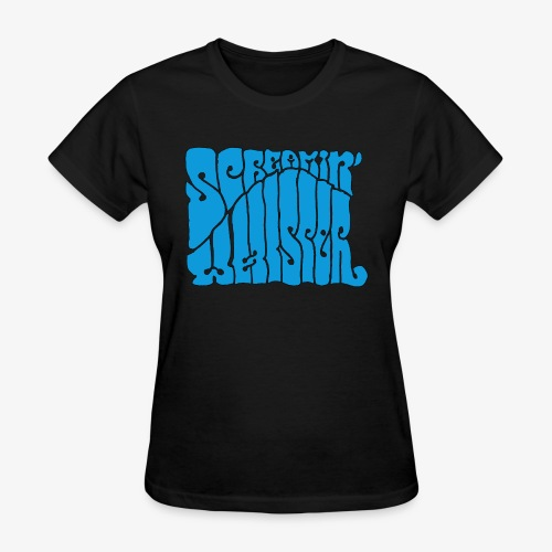 Screamin' Whisper Retro Logo - Women's T-Shirt