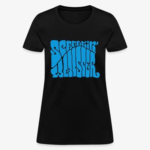 Screamin' Whisper Retro Logo - Women's T-Shirt