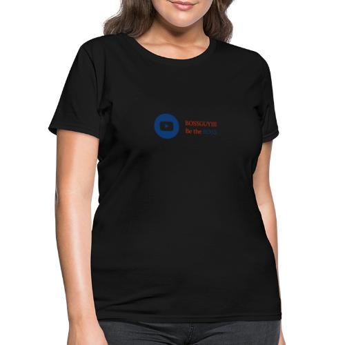 boss logo with red text - Women's T-Shirt
