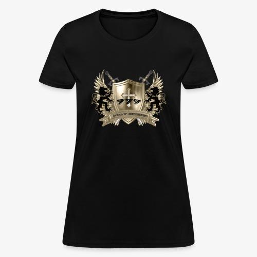 HOLY SPIRIT GOLD SHIELD - Women's T-Shirt