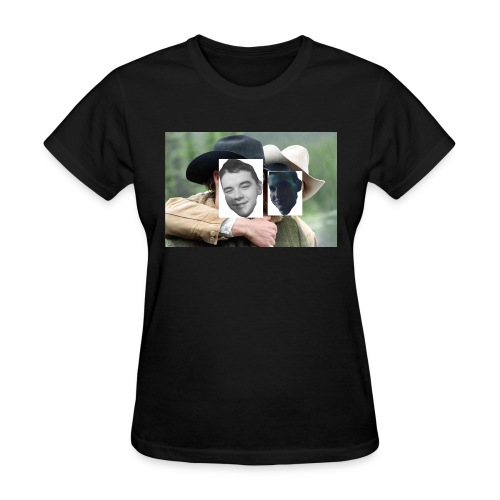 Darien and Curtis Camping Buddies - Women's T-Shirt