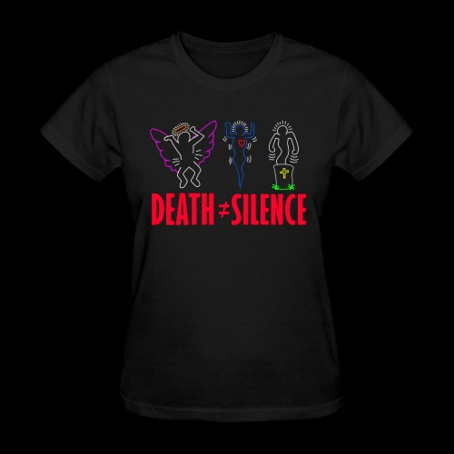 Death Does Not Equal Silence - Women's T-Shirt