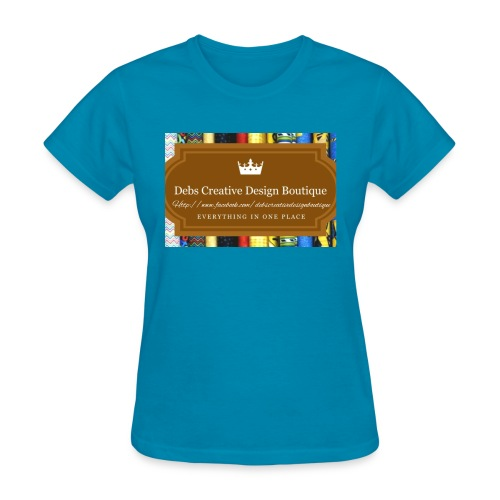Debs Creative Design Boutique with site - Women's T-Shirt