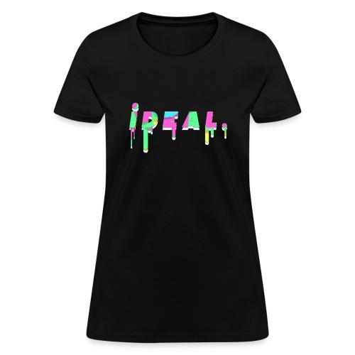 Ideal Acid Drip Logo - Women's T-Shirt