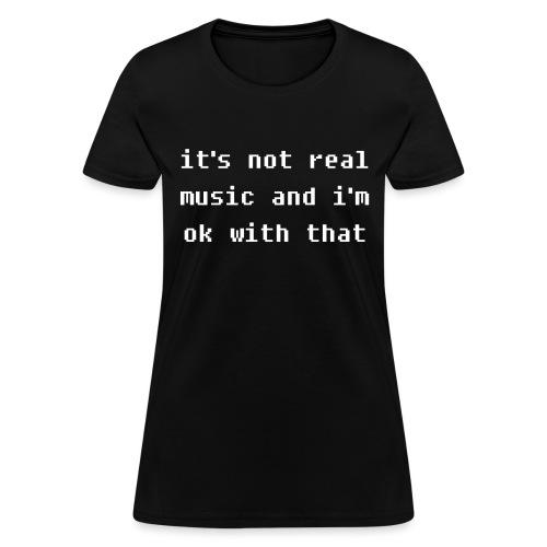 Real Music - Women's T-Shirt