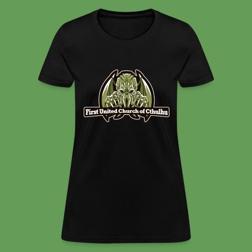 First United Church of Cthulhu - Women's T-Shirt