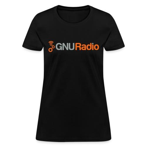 GNU Radio Logo Full - Women's T-Shirt