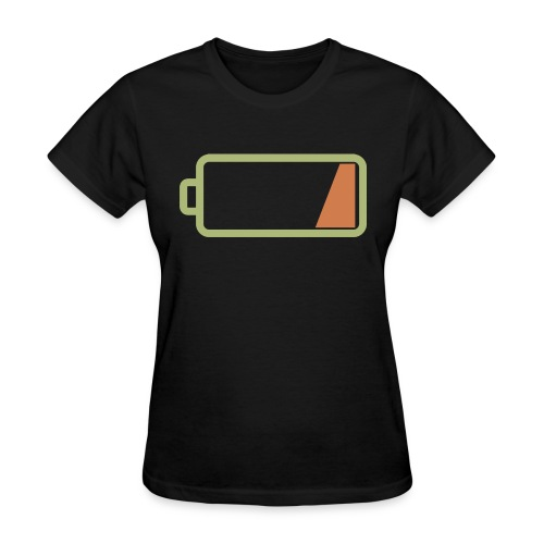 Silicon Valley - Low Battery - Women's T-Shirt