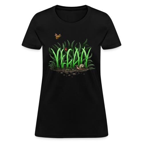 grow vegan - Women's T-Shirt