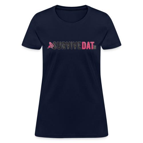SurviveDatTshirtLogoBig png - Women's T-Shirt