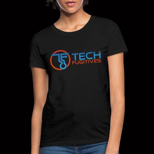 Tech Fugitives Logo T's and Gear - Women's T-Shirt