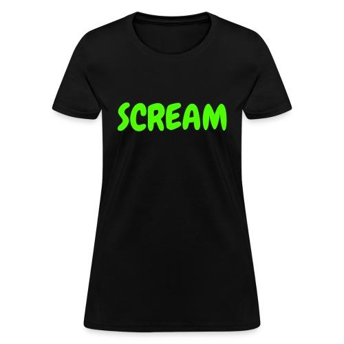 SCREAM - Women's T-Shirt