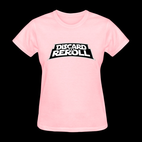 Discard to Reroll: Logo Only - Women's T-Shirt