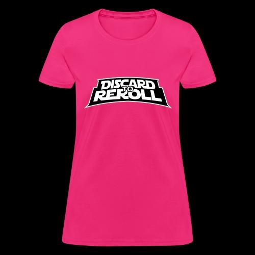 Discard to Reroll: Logo Only - Women's T-Shirt
