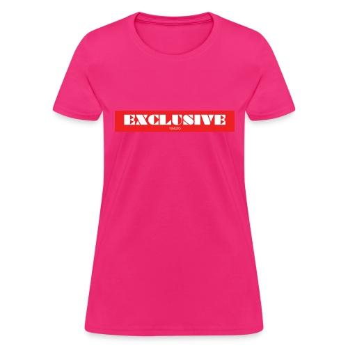 exclusive - Women's T-Shirt