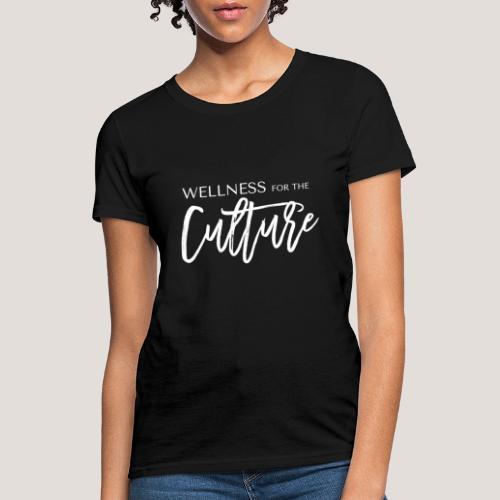 WFTC Logo White - Women's T-Shirt