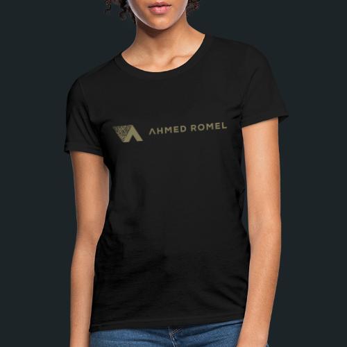 Ahmed Romel Gold Calli. - Women's T-Shirt