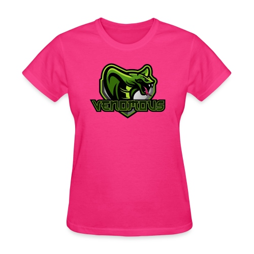 Venomous Text Logo - Women's T-Shirt