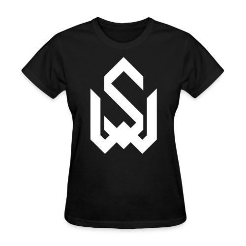 Final Logo Slim White png - Women's T-Shirt