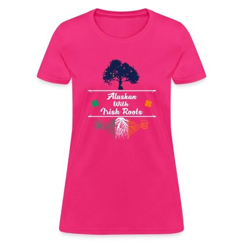 ALASKAN WITH IRISH ROOTS - Women's T-Shirt