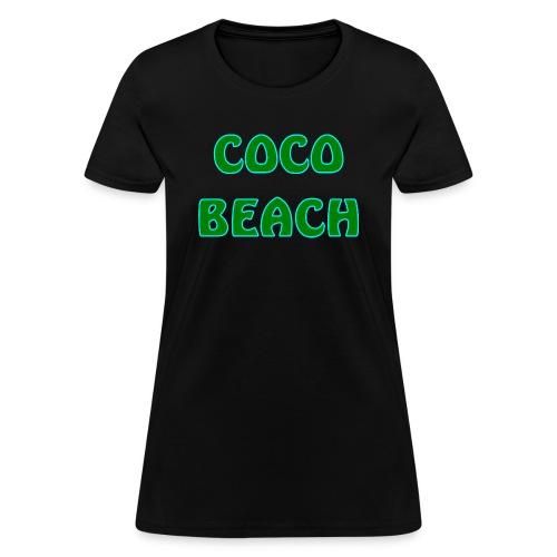 Coco beach - Women's T-Shirt