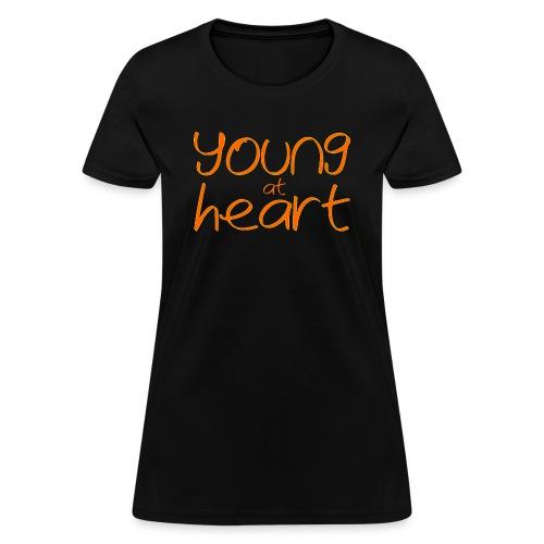 young at heart - Women's T-Shirt