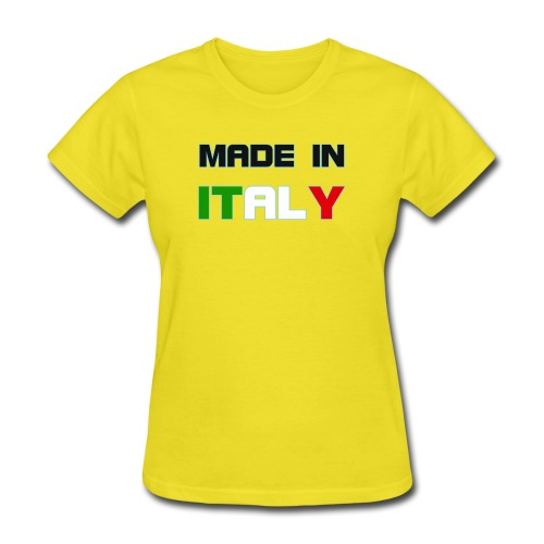 Made in Italy - Women's T-Shirt
