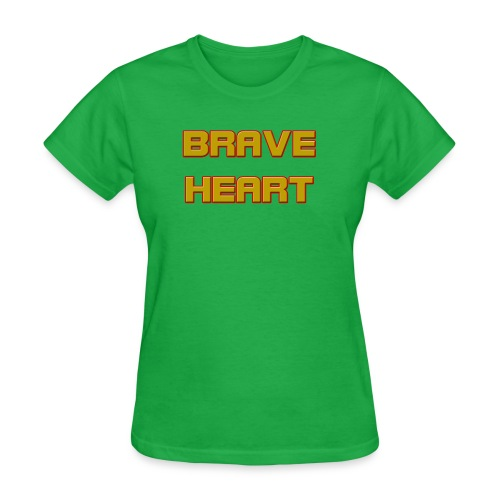 brave heart - Women's T-Shirt