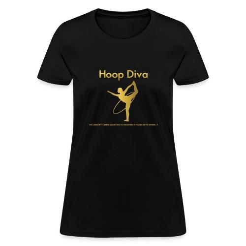 Hoop Diva 2 - Women's T-Shirt