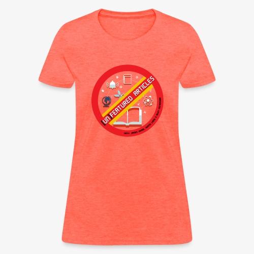unFeatured Articles Logo - Women's T-Shirt