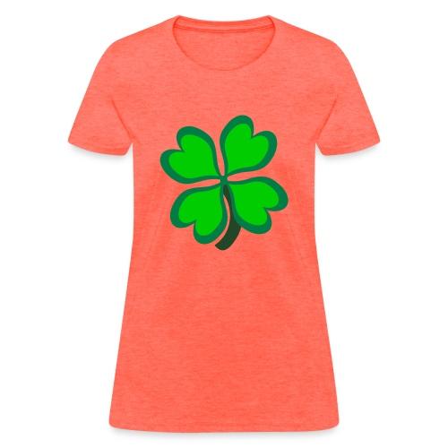 4 leaf clover - Women's T-Shirt