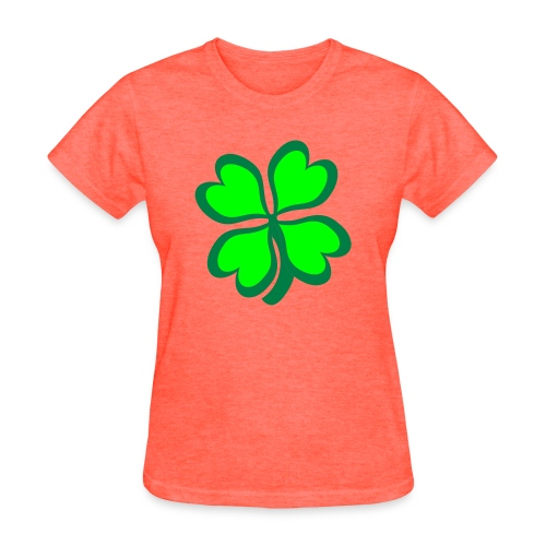 4 leaf clover - Women's T-Shirt