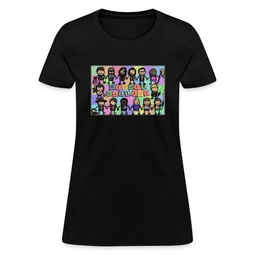 Heroes Gallery - Women's T-Shirt