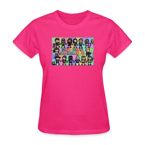 Heroes Gallery - Women's T-Shirt