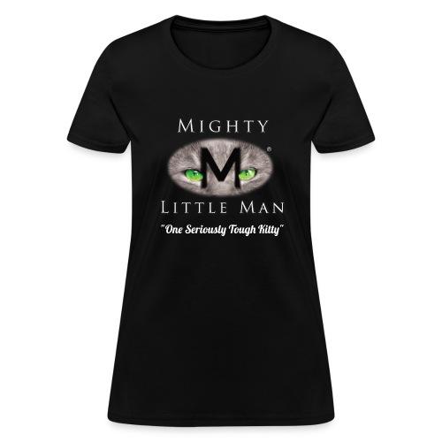MIGHTY LITTLE MAN Logo - Women's T-Shirt