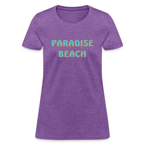 Paradise beach - Women's T-Shirt