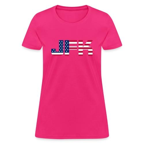 JFK - Women's T-Shirt