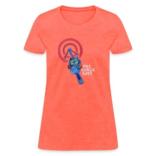 PKE Meter White text - Women's T-Shirt
