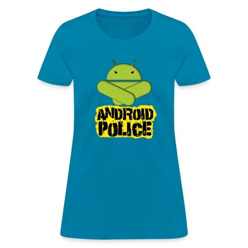 Debeloid Design 2 front - Women's T-Shirt