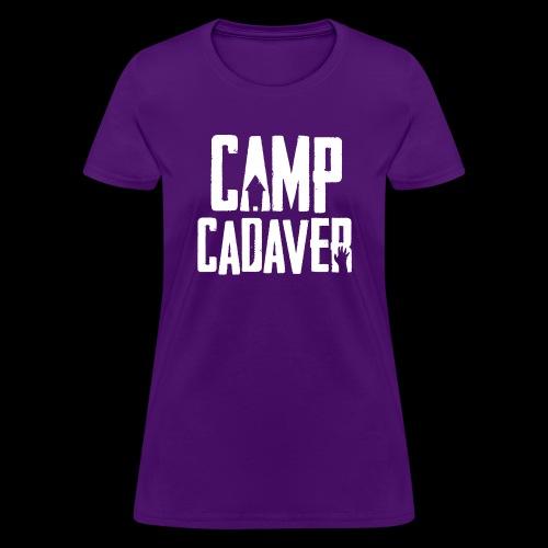 Camp Cadaver White Logo - Women's T-Shirt