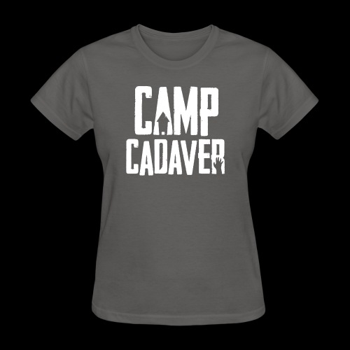 Camp Cadaver White Logo - Women's T-Shirt