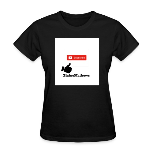 Youtube Like and Subscribe - Women's T-Shirt