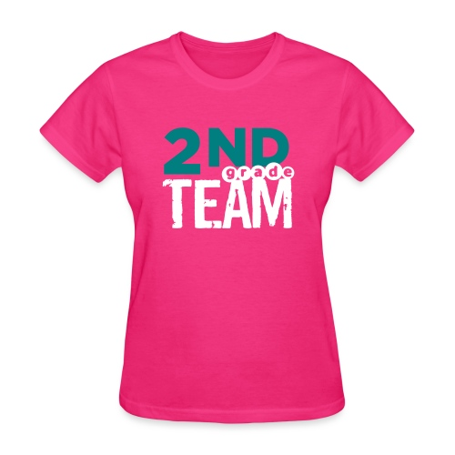 Bold 2nd Grade Team Teacher T Shirts - Women's T-Shirt