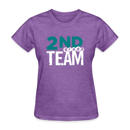 Bold 2nd Grade Team Teacher T Shirts - Women's T-Shirt