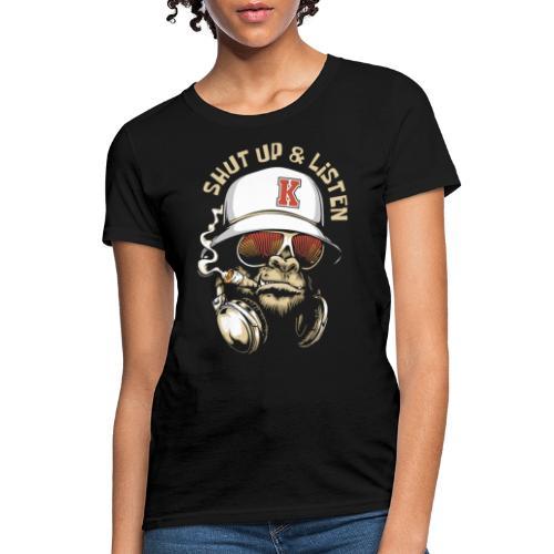gorilla music - Women's T-Shirt